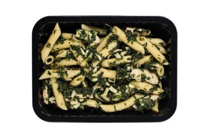 Alfa-kulinaria pyszny makaron ze szpinakiem i serem jak domowy