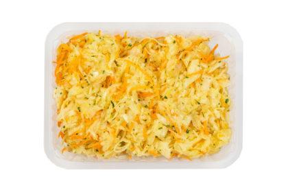 alfa-kulinaria pyszna surówka z kiszonej kapusty jak domowa