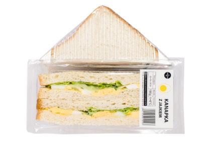 alfa-kulinaria pyszna trójkątna kanapka z jajkiem